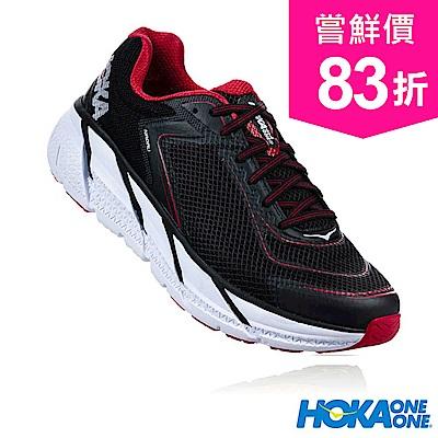 HOKA ONE ONE 男 NAPALI 路跑鞋 黑/競速紅