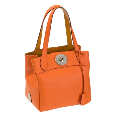 A.D.M.J. 小牛皮BOX CALF VERA TOTE 22 (ORANGE)