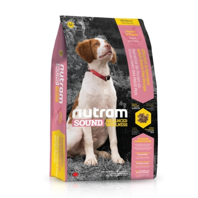 Nutram紐頓 均衡健康系列-S2幼犬/雞肉燕麥配方 2.72kg【2136】