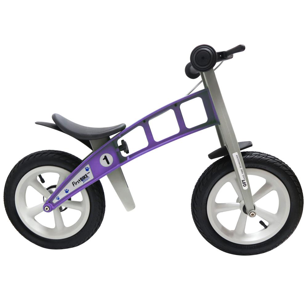 FirstBike 德國高品質設計 寓教於樂-兒童滑步車/學步車-街頭薰衣草紫