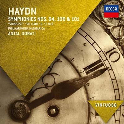 海頓:交響曲 - 驚愕、軍隊、時鐘 / 杜拉第 指揮 匈牙利愛樂管弦樂團