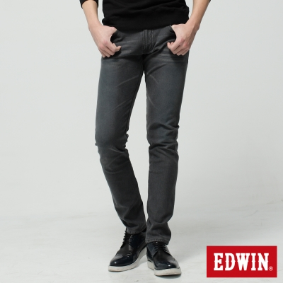 EDWIN-W-F-ZERO窄直筒保溫褲-男-灰色