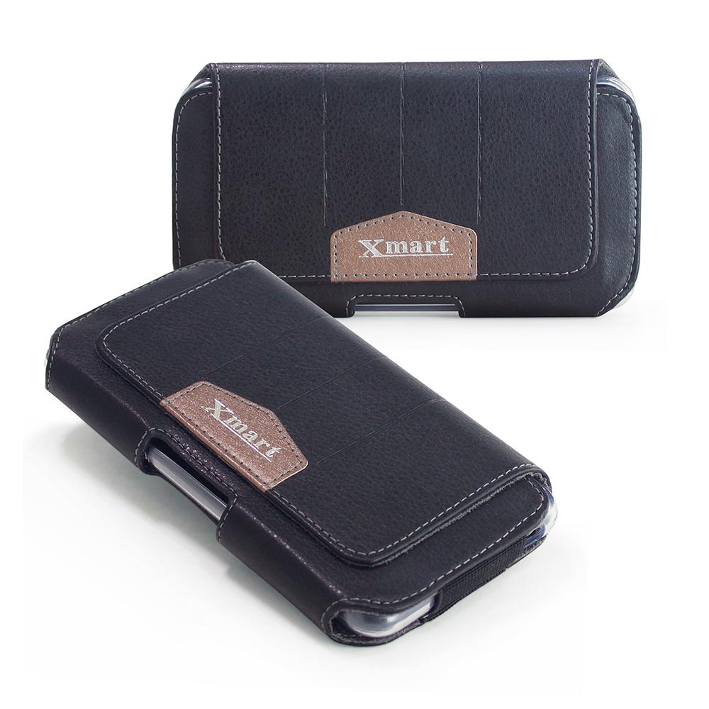 X mart iphone 6 6s流行潮流腰掛隱形磁扣皮套