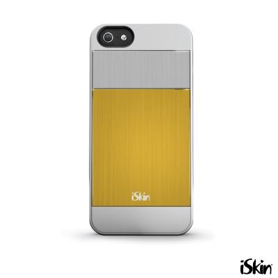 iSkin iPhone 5/5S aura 高質感鋁合金雙色背蓋