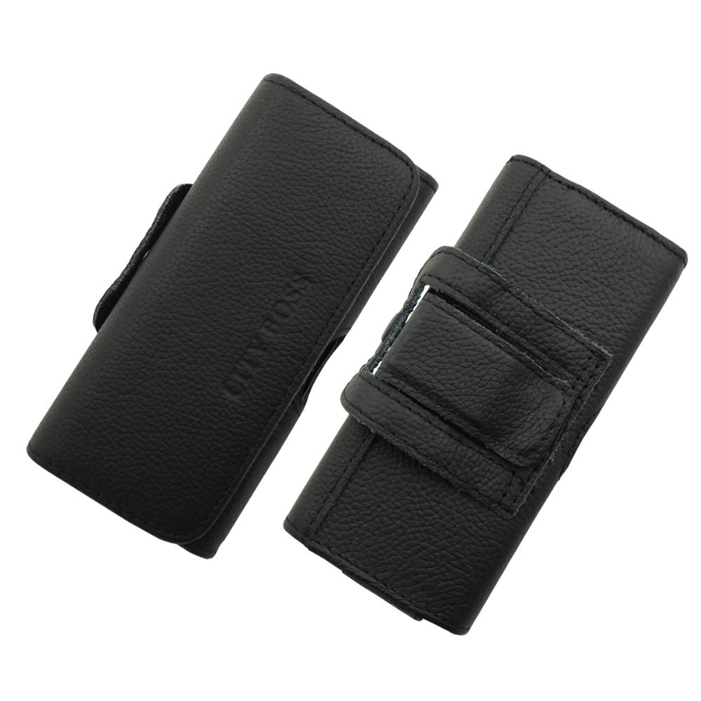 City boss Samsung Note3/Note 3真皮橫式腰掛保護皮套