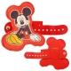 Disney 多用途可愛造型皮革捲線器