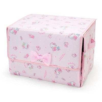 Sanrio HELLO KITTY可前開式收納箱(甜蜜睡衣)