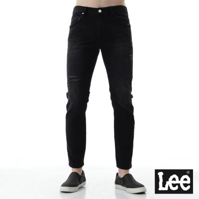 Lee 牛仔褲 706低腰合身窄管牛仔褲-男-藍