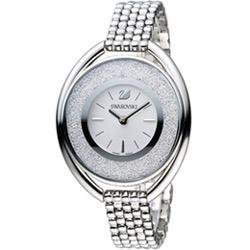 施華洛世奇 SWAROVSKI Crystalline 璀璨耀眼魅力腕錶-銀/37mm