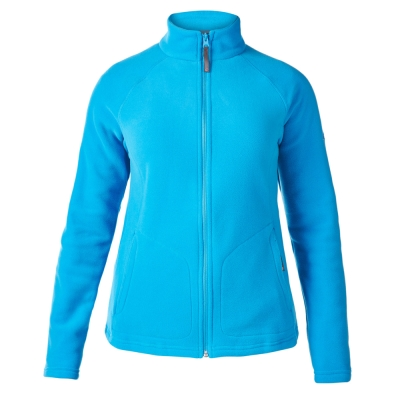 【Berghaus 貝豪斯】女款刷毛保暖外套H22FP8-藍