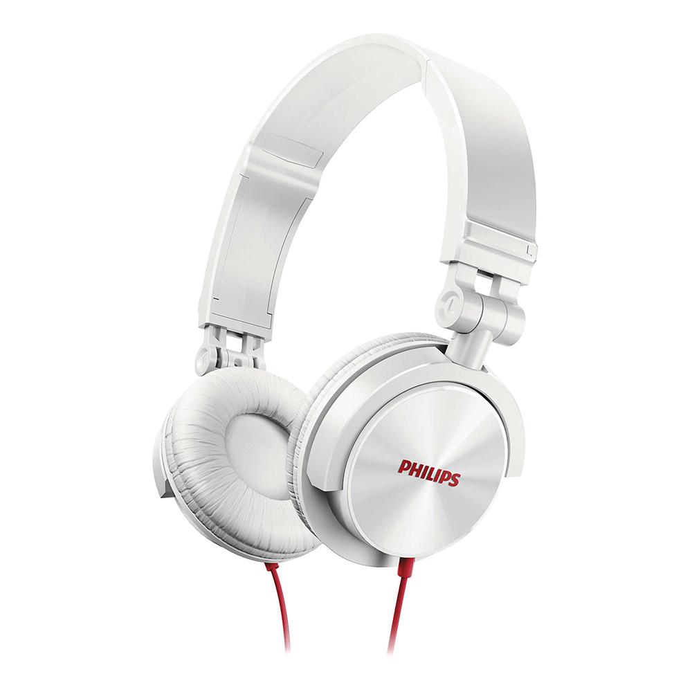 PHILIPS飛利浦 頭戴式耳機(白) SHL3050WT