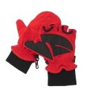 【VOSUN】新款 DINTEX 輕量防風防水翻蓋兩用手套_V-586 紅