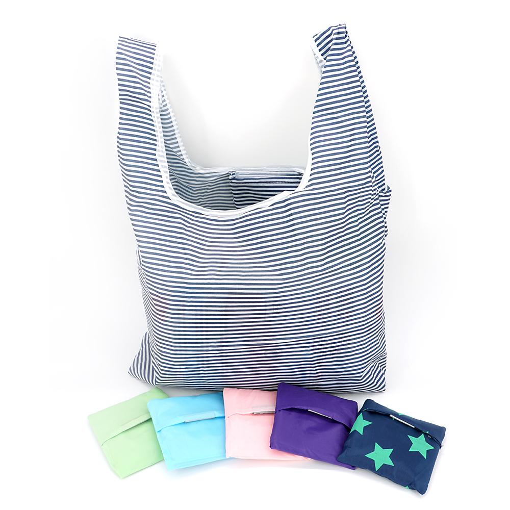 購物袋折疊環保袋-隨機5入