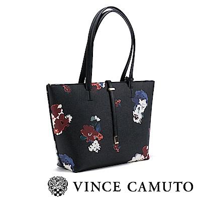Vince Camuto 花漾美型托特包-黑色