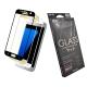 Metal-Slim 三星 Galaxy S7 (滿版)9H弧邊耐磨防指紋鋼化玻璃貼