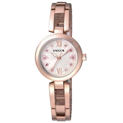 CITIZEN 愛圍繞時尚腕錶(BG3-929-21)-玫瑰金/24mm