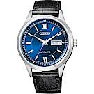 CITIZEN星辰 爵士機械錶(NY4050-03L)-藍x黑/40mm