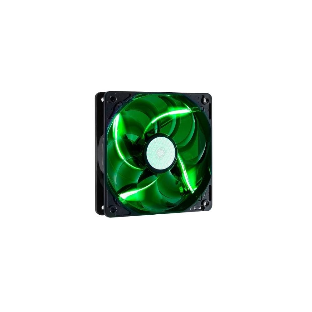 Cooler Master 九葉鎌刀扇- 綠光LED(12公分)