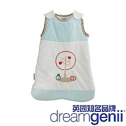 英國 Dreamgenii 防踢被嬰兒睡袋(粉藍色水果 S 小號)