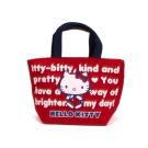 Sanrio HELLO KITTY保冷提袋S(可愛紅)