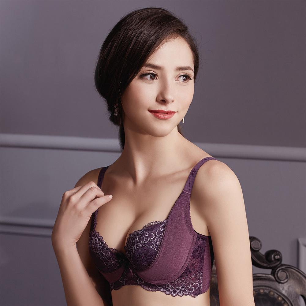 【摩奇X】美麗系列挺魔力Bra B-C罩杯內衣(紫)