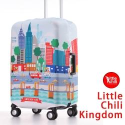 LittleChili行李箱套521-紐約彩M