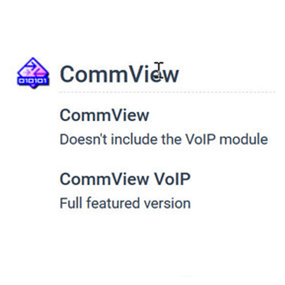 CommView VoIP (網路監控) 單機版 (下載)