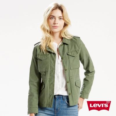 女裝 風衣 軍裝大口袋 - Levis