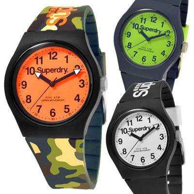 Superdry 極度乾燥 多彩矽膠 運動腕錶 均一價$1880