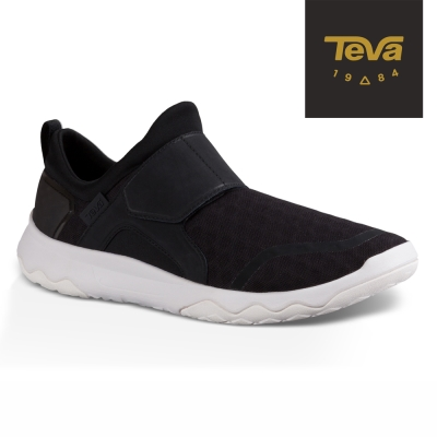 TEVA 美國 男 Arrowood Slip-On 輕量休閒鞋 (黑)