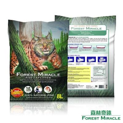 ForestMiracle 森林奇跡 天然環保 崩解型 松木砂 貓砂 8L