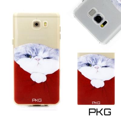 PKG HTC U11 彩繪空壓氣囊保護殼-浮雕彩繪-霸王貓