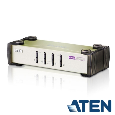 ATEN 4埠 PS/2-USB KVM 切換器(CS84U)