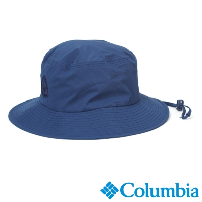 【Columbia哥倫比亞】男女-韓版遮陽帽-深藍色 UYU06840NY