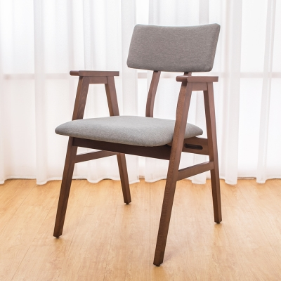 Boden-伊娃實木餐椅/單椅(四入組合)-54x57x82cm