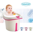 babyhood 維尼幼兒坐式泡澡桶  附浴凳趣味小水勺