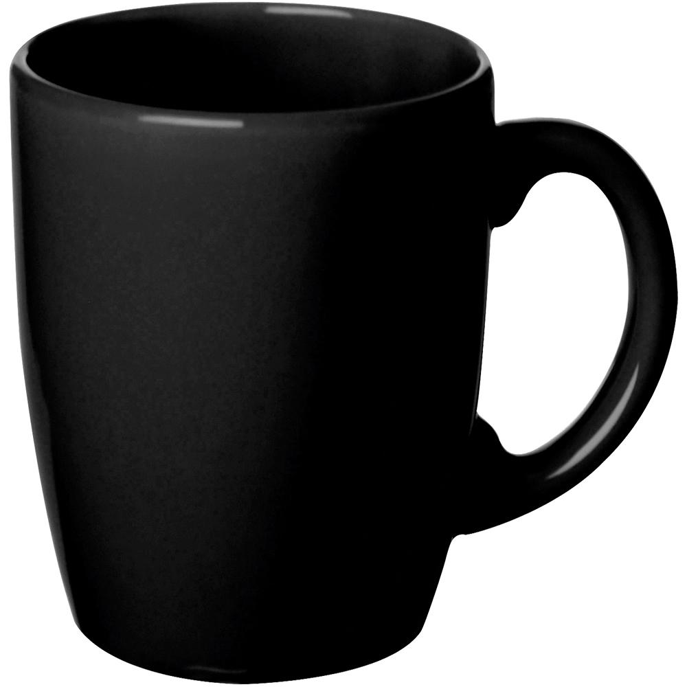EXCELSA 陶製馬克杯(黑260ml)