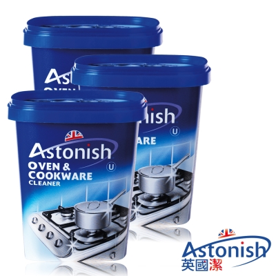 Astonish英國潔 速效去污廚房去污霸3罐(500gx3)