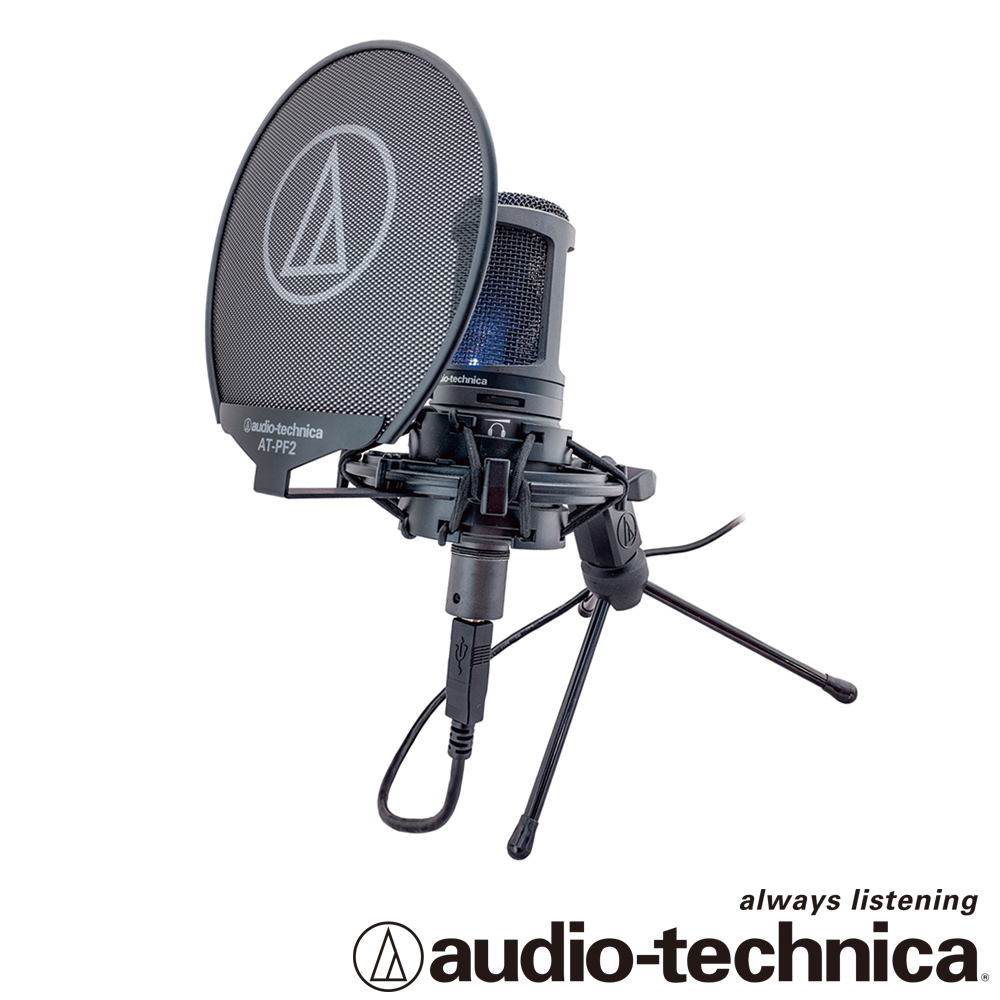 audio-technica 靜電型電容式麥克風 AT2020USB+ product image 1