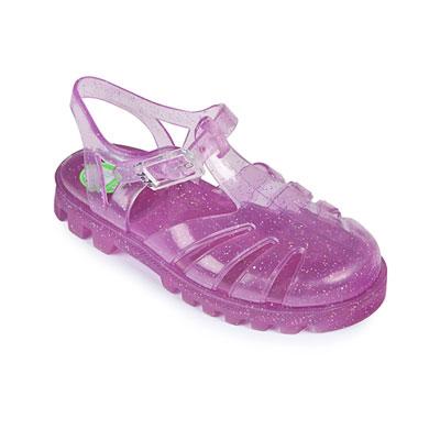 Project Jelly JuJu英國製果凍涼鞋(亮片粉紫)