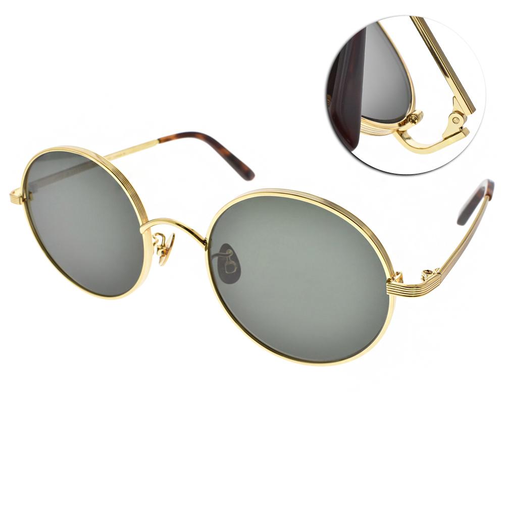 NINE ACCORD太陽眼鏡 輕量復古圓框/金-綠鏡片#KISSING MUZE C01