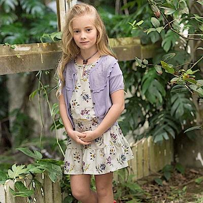 PIPPY 碎花蛋糕裙洋裝 紫