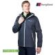 【Berghaus貝豪斯】男款HS輕量防水透氣連帽外套H22MV1碳灰 product thumbnail 1