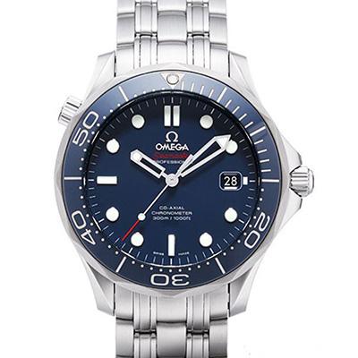 OMEGA 歐米茄 Seamaster 海馬300米潛水腕錶-藍/41mm