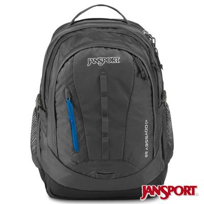 JanSport -ODYSSEY系列後背包 -灰