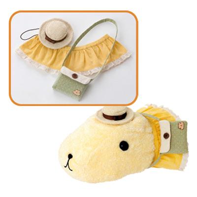 Kapibarasan 水豚妹旅行系列變裝衣服