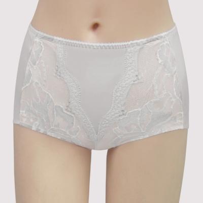 曼黛瑪璉 包覆提托雙弧  高腰修飾內褲(星空灰)