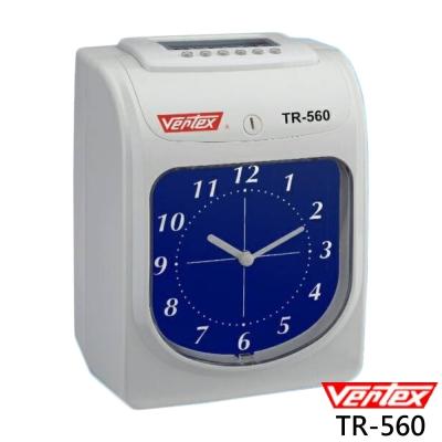 世尚VERTEX 六欄位微電腦雙色打卡鐘TR-560