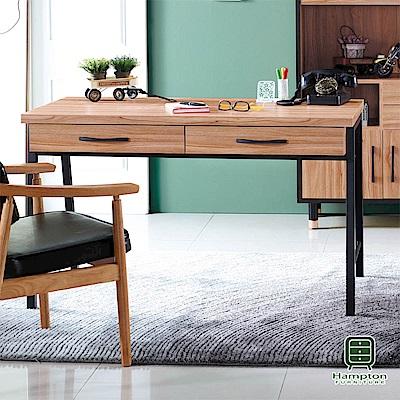 漢妮Hampton沃利系列4尺書桌-120x60x75cm