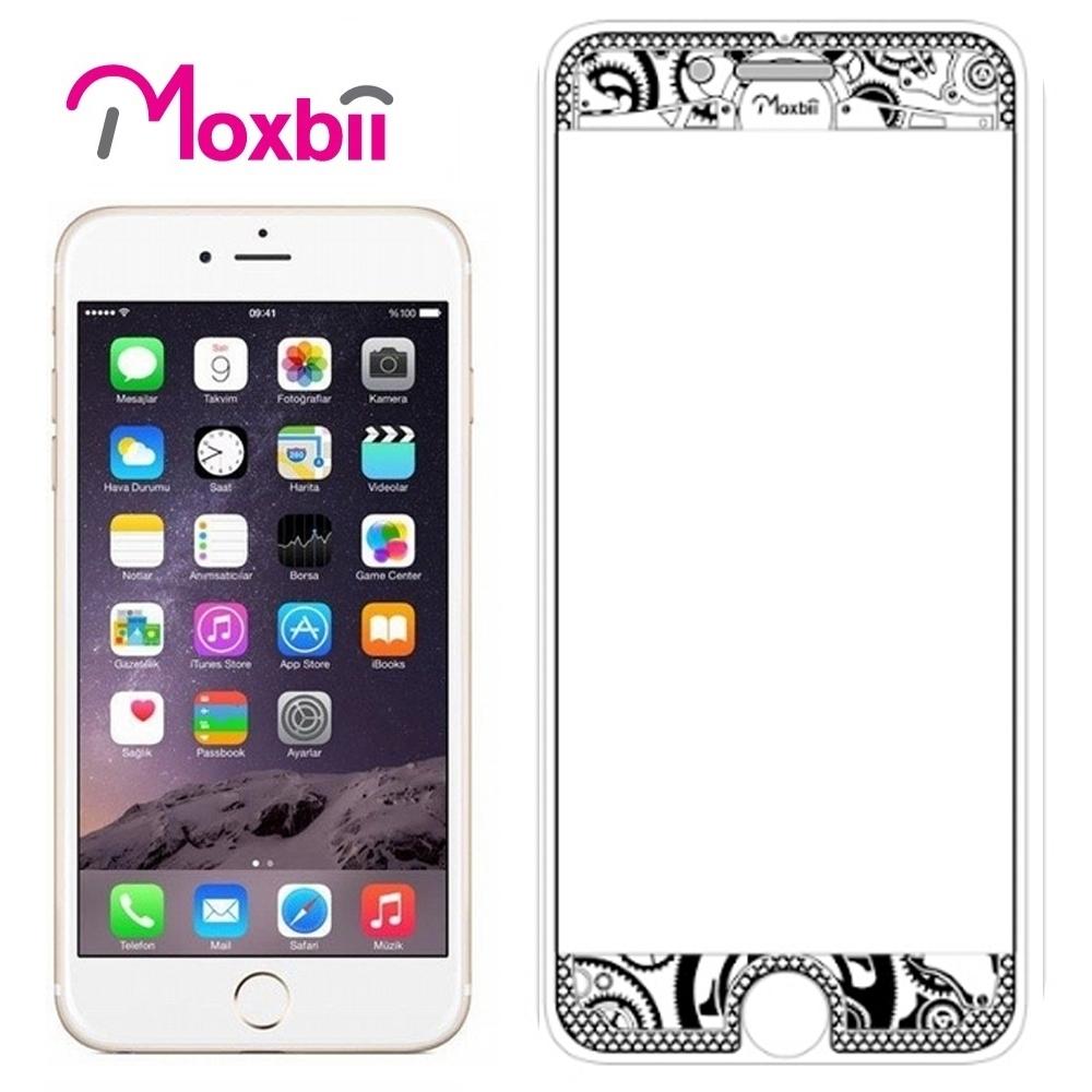 Moxbii iPhone 7 4.7吋太空盾 光雕系列 螢幕保護貼-匠心工藝